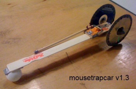 Mousetrap Car Instructions With Paint Sticks